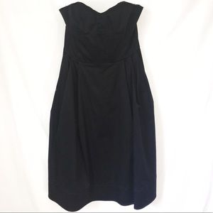 CALVIN KLEIN   strapless fit and flare dress sz 6